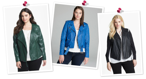 Leather jackets for plus sizes