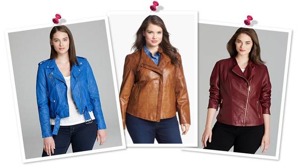 moto jackets for plus-size women