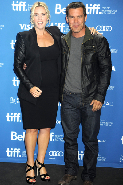 Pregnant Kate Winslet and Josh Brolin