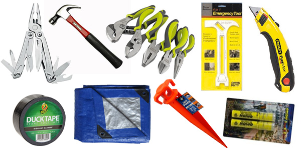 Tools and things for a natural disaster