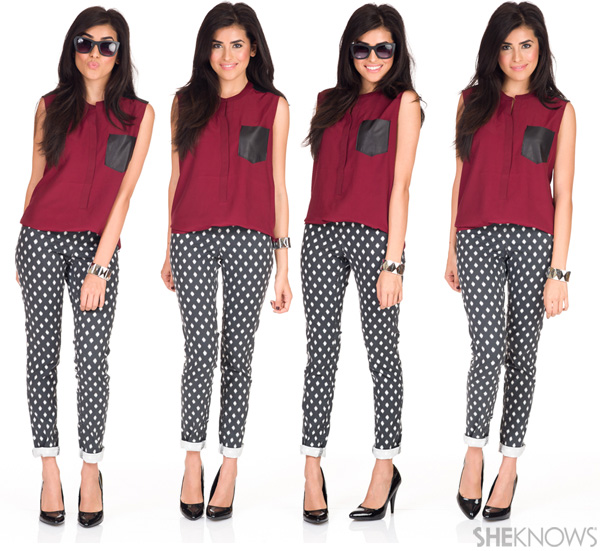 How to pull off printed pants | SheKnows.com