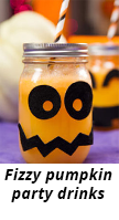 pumpkin party drinks