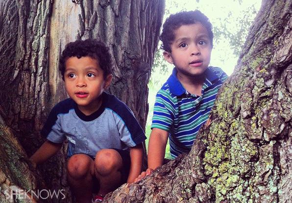 Samantha Kemp Jackson's twin boys