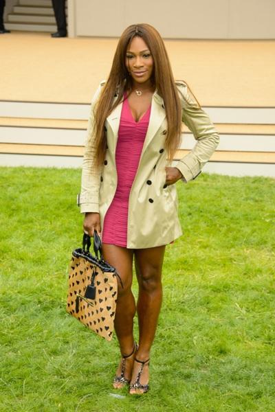 Athletic body type -- Serena Williams