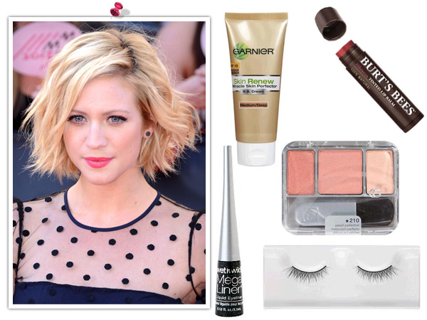 Get Brittany Snow's makeup look