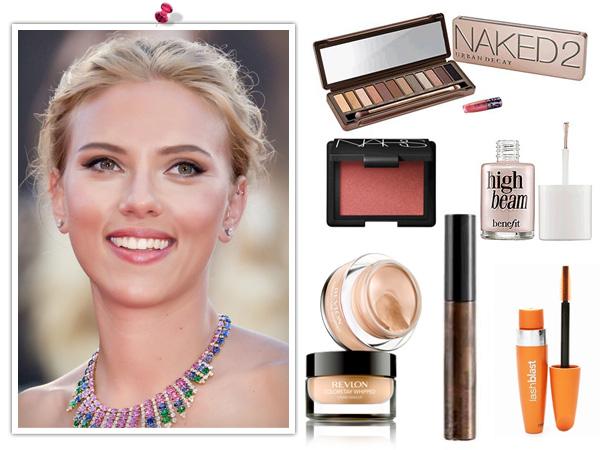 Get Scarlett Johansson's makeup look