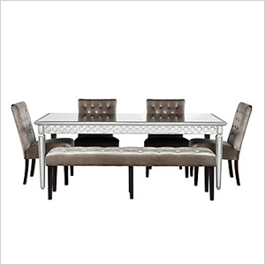 Luxe glam dining table from Z Gallerie