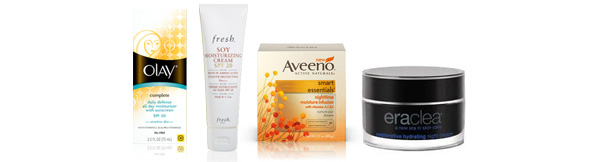 Sensitive skin moisturizers for winter