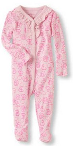 The Children's Place recalled pink jammies