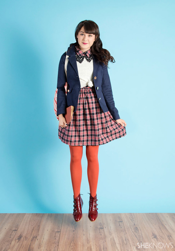 scholastic dress for fall | ModCloth and SheKnows.com