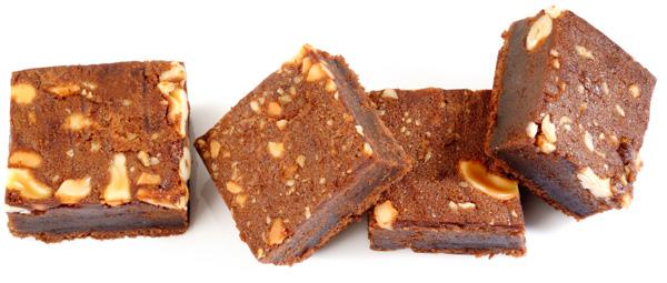 Nutty, chocolaty and vegan