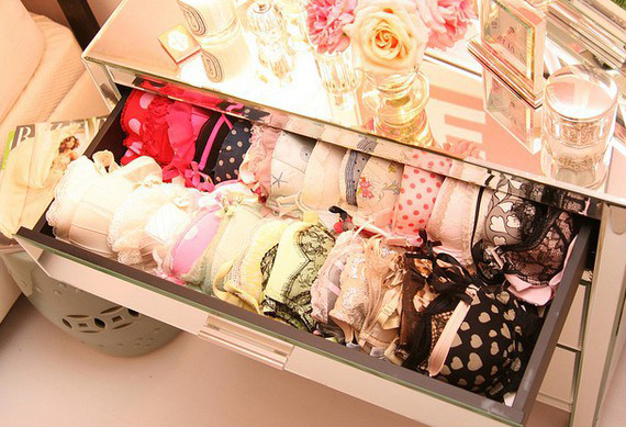 Drawer at Victoria's Secret