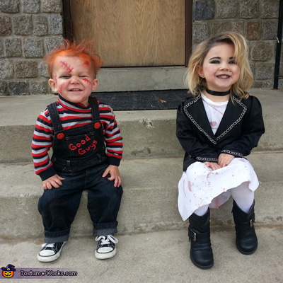 Bride of Chucky Costume Baby Baby Chucky And The Bride of