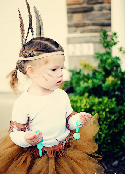 Toddler Girl Native American Costume Little Native American Toddler