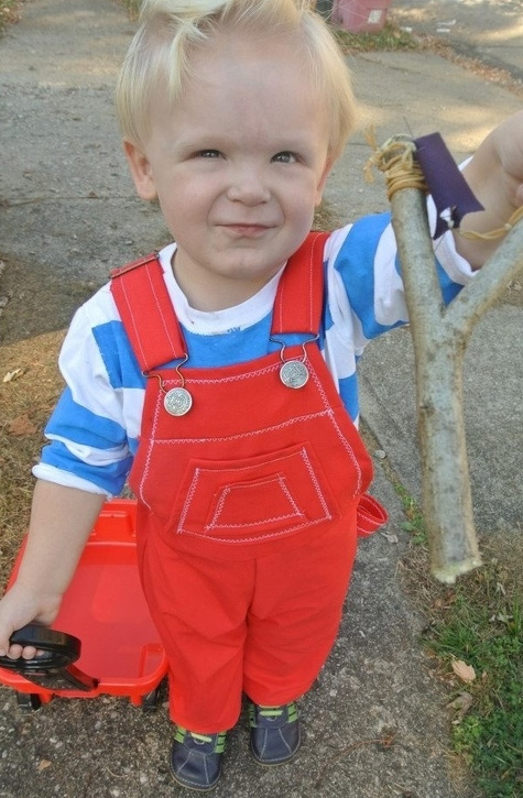 Dennis the Menace toddler costume