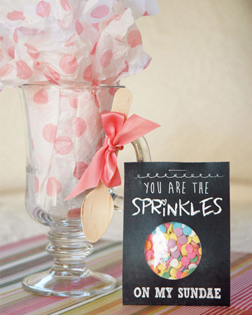 You are the sprinkles on my sundae printable