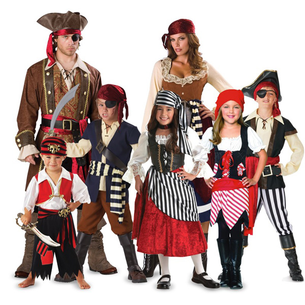 Hilarious group costume ideas for Halloween: Pirates