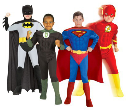 Hilarious group costume ideas for Halloween: Superheroes