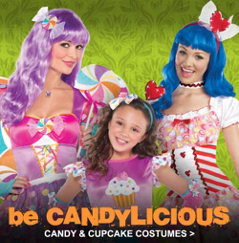 Hilarious group costume ideas for Halloween: Candy crush