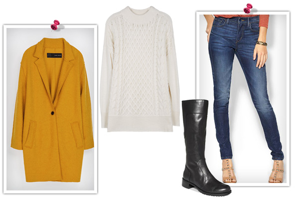 5 Fall outfits inspired by classic fall colors -- mustard