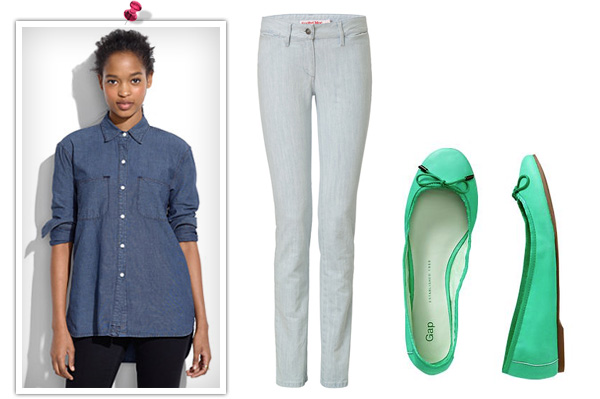 The chic Canadian tuxedo