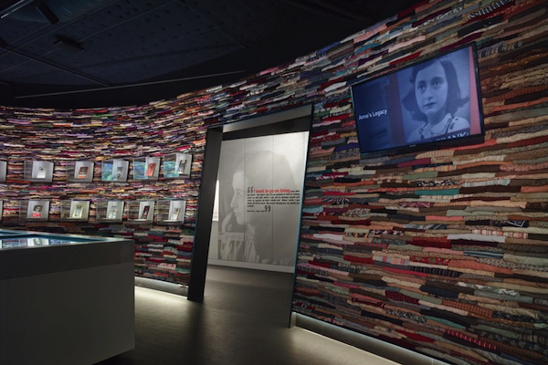Anne Frank Exhibit at Museum of Tolerance