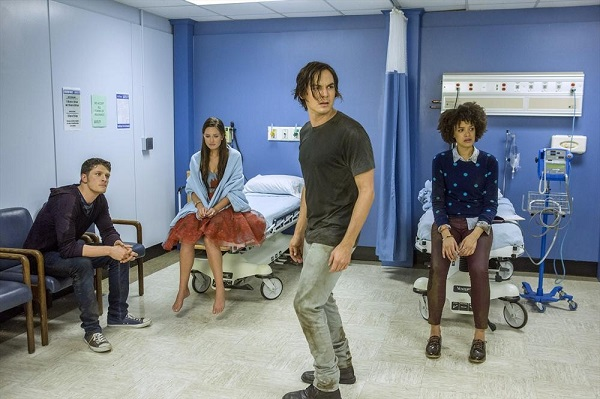 Luke, Olivia, Caleb and Remy at the Hospital in Ravenswood