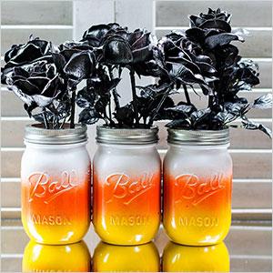 Candy corn mason jars | Sheknows.ca