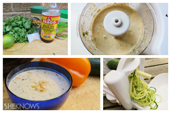 Pad thai with zucchini noodles first steps | Sheknows.ca