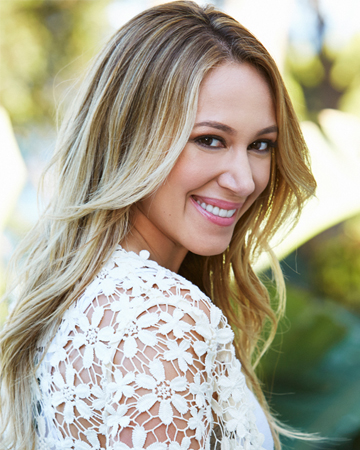 Haylie Duff dishes tips from her Real Girl's Kitchen