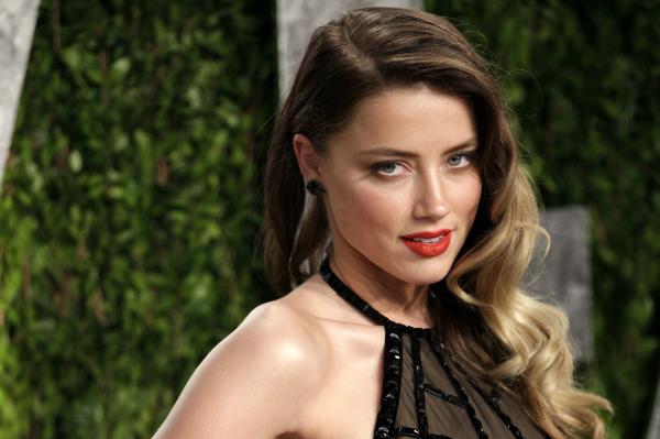 Actress Amber Heard