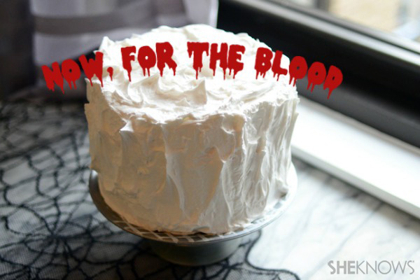 A cake fit for Count Dracula