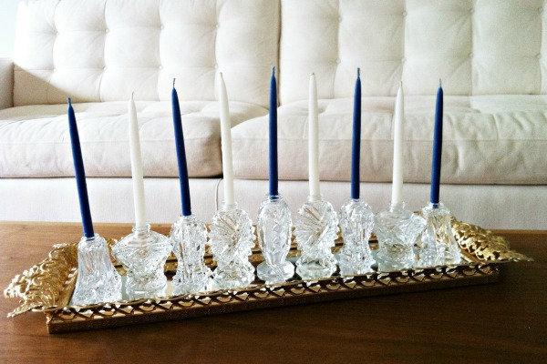 Make your own menorah for less than $20