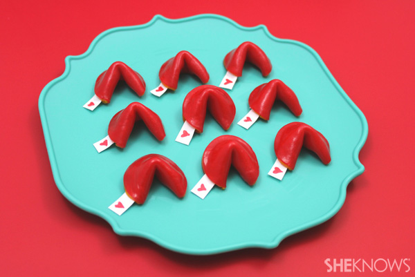 Fruit Roll-Ups fortune cookie valentines