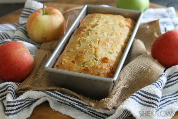 ... cheddar make this one a delicious and hearty fall afternoon snack