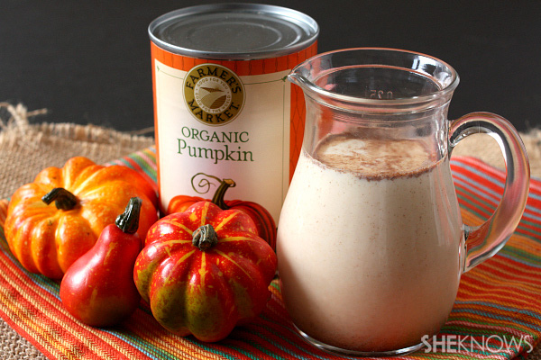Homemade coffee creamers: Fall flavors