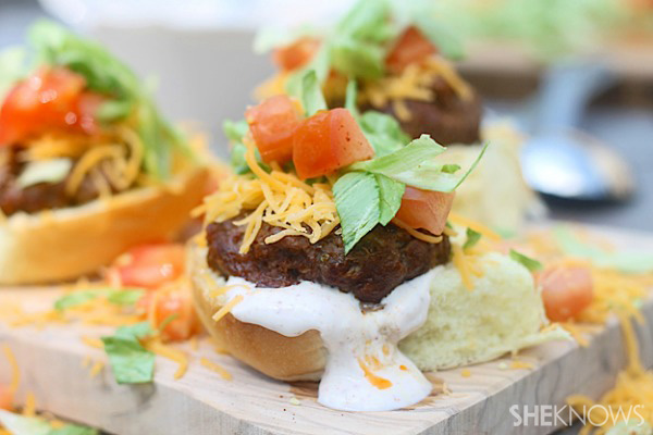 Supreme taco sliders