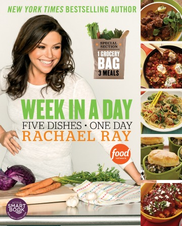 Cookbook review: Week in a Day by Rachael Ray