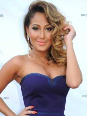 Adrienne Bailon's brown hair