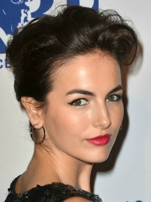 Camilla Belle's brown hair