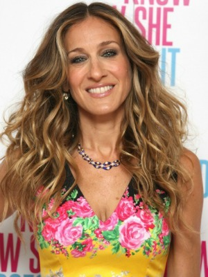 Sarah Jessica Parker's curly hairstyles