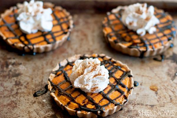 Mini gluten free pumpkin tarts
