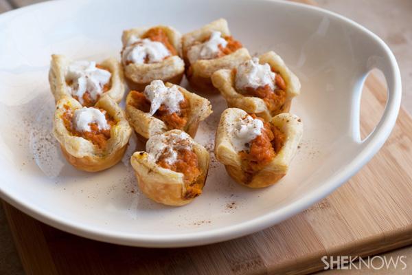 Mini sweet potato pie bites