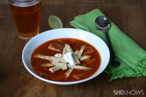 Try this terrific soup!