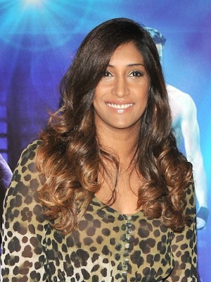 Tina Daheley's brown hair