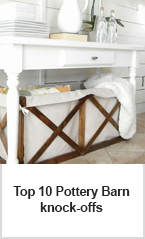 pottery barn knock-off