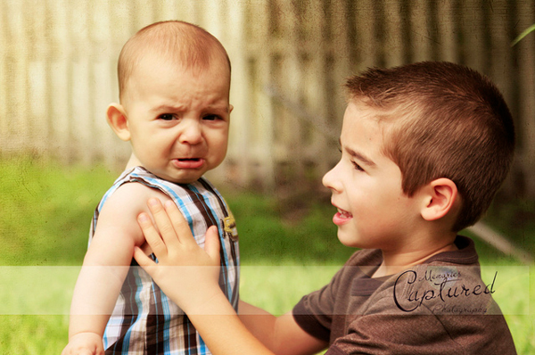 Baby photo fails - adorable frown