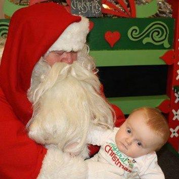 Baby photo fails - DNW Santa