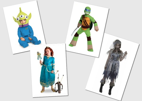Halloween costumes for all ages