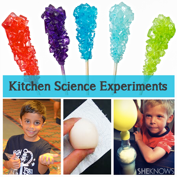 Homeschool science experiments
